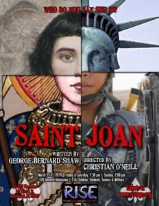 Saint Joan @ The RISE Playhouse | Woonsocket | Rhode Island | United States