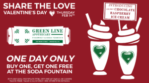 Two for One Valentine's Day @ Green Line Apothecary | South Kingstown | Rhode Island | United States