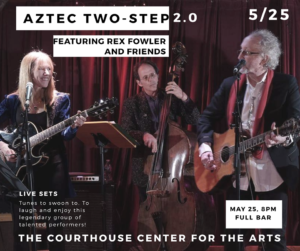 Aztec Two Step 2.0 featuring Rex Fowler and Friends @ Courthouse Center for the Arts | South Kingstown | Rhode Island | United States