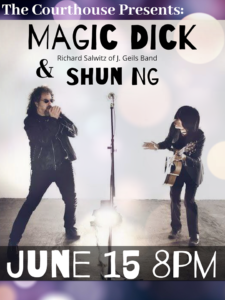 Richard Salwitz of J. Geils Band and Shun Ng @ Courthouse Center for the Arts | South Kingstown | Rhode Island | United States