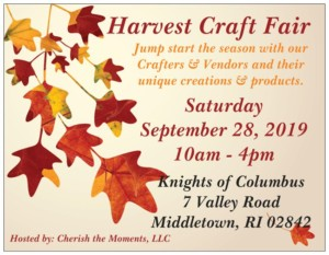Harvest Craft Fair @ Knights of Columbus | Middletown | Rhode Island | United States