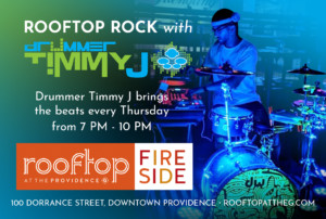 Rooftop Rock with Drummer Timmy J @ Rooftop at the Providence G | Providence | Rhode Island | United States