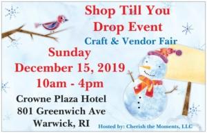 Shop Till You Drop Event @ Crowne Plaza Hotel | Warwick | Rhode Island | United States