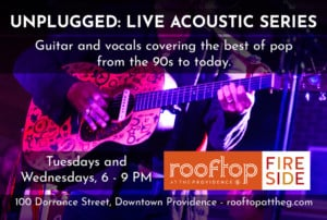 Unplugged: Acoustic Series @ Rooftop at the Providence G | Providence | Rhode Island | United States
