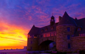 Easter Sunrise Service @ The Towers | Narragansett | Rhode Island | United States