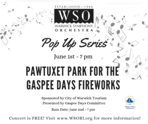 WSO Pop-Up Concert One @ Pawtuxet Park | Warwick | Rhode Island | United States