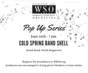 WSO Pop-Up Concert Four @ Cold Spring Community Center Band Shell | North Kingstown | Rhode Island | United States