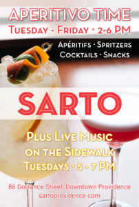 Aperitivo Time @ Sarto Restaurant | Providence | Rhode Island | United States