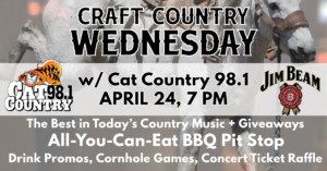 Craft Country Wednesday with Cat Country 98.1 @ Providence GPub | Providence | Rhode Island | United States