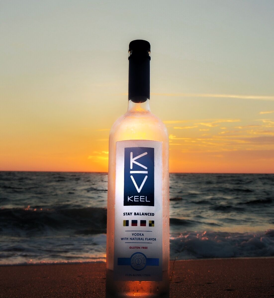 KEEL Vodka Offers Lower-Calorie Spirits for Summer Cocktails