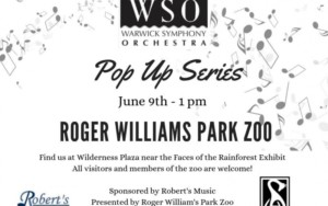 Warwick Symphony Orchestra: Pop Up Concert @ Roger Williams Park Zoo | Providence | Rhode Island | United States