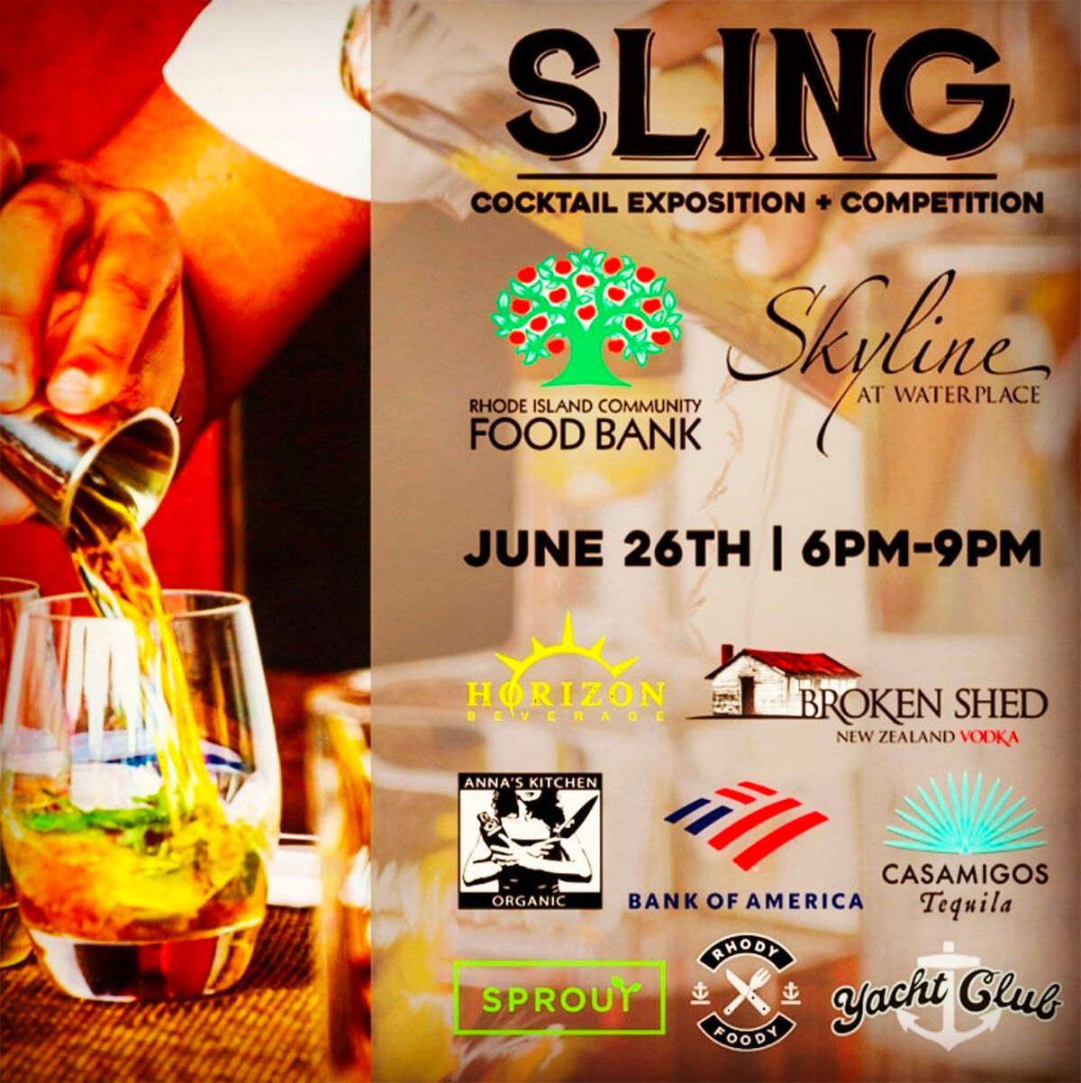 Sling Cocktail Competition Puts Local Bartenders to the Test