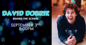 David Dobrik: Behind the Scenes @ The Ryan Center | South Kingstown | Rhode Island | United States