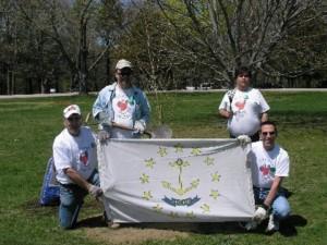 Adopt-A-Spot ! The Jaycee Arboretum and Senator Roch Riverwalk @ Riverpoint COMMUNITY Park | West Warwick | Rhode Island | United States