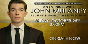 An Evening with John Mulaney @ The Ryan Center | South Kingstown | Rhode Island | United States