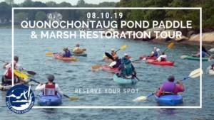 Salt Pond Paddle at Quonochontaug Pond @ Launch Point-Qounochontaug Breachway | Charlestown | Rhode Island | United States
