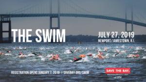 Save The Bay Swim @ Newport Navy Base