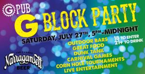 G Block Party @ Providence GPub | Providence | Rhode Island | United States