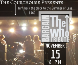 Bargain- The Who Tribute @ Courthouse Center for the Arts | South Kingstown | Rhode Island | United States