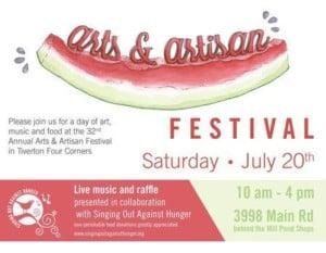 Arts and Artisan Festival, Tiverton Four Corners @ Tiverton Four Corners | Tiverton | Rhode Island | United States