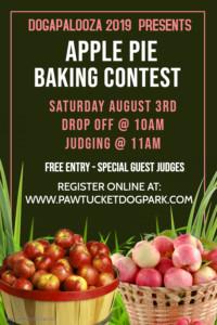Apple Pie Baking contest @ Dogapalooza Family Festival 2019 | Pawtucket | Rhode Island | United States