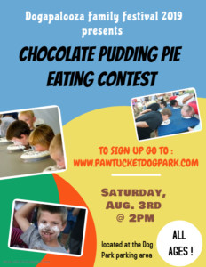 Chocolate Pudding Pie Eating Contest @ Dogapalooza Family Festival | Pawtucket | Rhode Island | United States