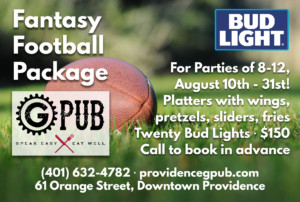 Fantasy Football Promotion at GPub @ Providence GPub | Providence | Rhode Island | United States