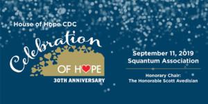 Thirtieth Anniversary: Celebration of Hope @ Squantum Association | East Providence | Rhode Island | United States