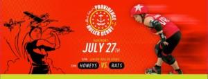 Providence Roller Derby Old Money Honeys v. Sakonnet River Roller Rats @ ALEX AND ANI City Center | Utica | New York | United States