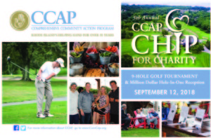 Fifth Annual CCAP Chip for Charity Golf Tournament and Million Dollar Hole-in-One Reception @ Harbor Lights | Warwick | Rhode Island | United States