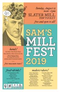 Sam's Mill Fest @ Old Slater Mill