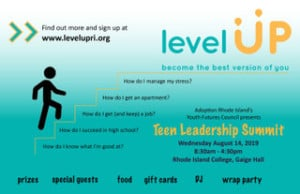 Level UP Foster Youth Leadership Summit @ Rhode Island College - Gage Hall | Providence | Rhode Island | United States