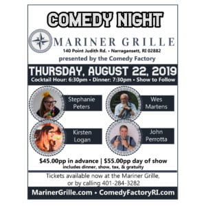 Comedy Night at The Mariner Grille @ The Mariner Grille | Narragansett | Rhode Island | United States