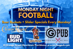 Monday Night Football at GPub @ Providence GPub | Providence | Rhode Island | United States