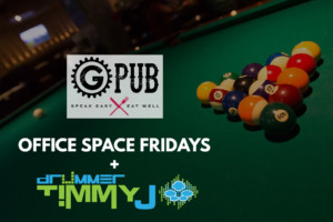 Office Space Fridays with Drummer Timmy J at GPub @ Providence GPub | Providence | Rhode Island | United States