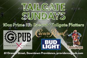 Tailgate Sundays at GPub @ Providence GPub | Providence | Rhode Island | United States
