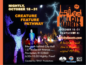 Creature Feature Haunted Pathway @ City Hall | Pawtucket | Rhode Island | United States