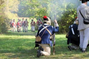 Revolutionary War Re-enactment Weekend at Chase Farm Park @ Chase Farm Park | Lincoln | Rhode Island | United States