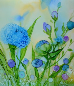 The Art of Painting with Alcohol Inks with Mary Wojciechowski @ Bristol Art Museum | Bristol | Rhode Island | United States