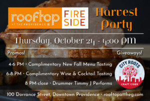 Harvest Party at The Rooftop @ Rooftop at the Providence G | Providence | Rhode Island | United States