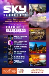 Sky Saturdays at The Rooftop @ Rooftop at the Providence G | Providence | Rhode Island | United States