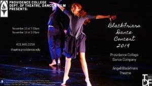 Blackfriars Dance Concert @ Angell Blackfriars Theatre | Providence | Rhode Island | United States