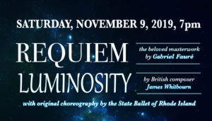 Requiem and Luminosity - A Providence Singers Event @ McVinney Auditorium | Providence | Rhode Island | United States