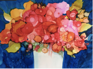 Alcohol Ink Painting for Holiday Gifts with Mary Wojciechowski @ Bristol Art Museum | Bristol | Rhode Island | United States