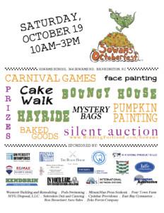 Sowams Octoberfest @ Sowams Elementary School   Barrington   Rhode Island   United States