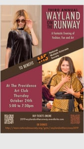 Wayland on the Runway Fundraiser for MS @ Providence Art Club | Providence | Rhode Island | United States