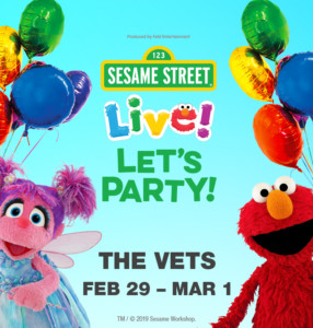 Sesame Street Live! Let's Party! @ The VETS | Providence | Rhode Island | United States