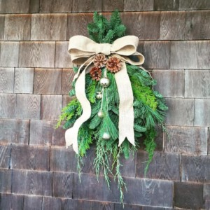 Creative Swags and Garlands @ Blithewold Mansion, Gardens, and Arboretum | Bristol | Rhode Island | United States
