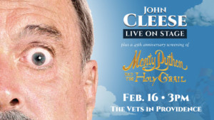 John Cleese Live on Stage @ The VETS | Providence | Rhode Island | United States