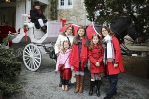 Horse-Drawn Holiday Carriage Ride @ Blithewold Mansion, Gardens, and Arboretum   Bristol   Rhode Island   United States